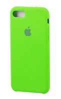 Чехол накладка Apple Silicone Case для iPhone 7 Plus / 8 Plus, Ярко-салатовый