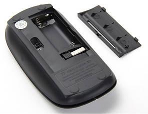 Беспроводная ультратонкая мышь мышка G132 Black, фото 2