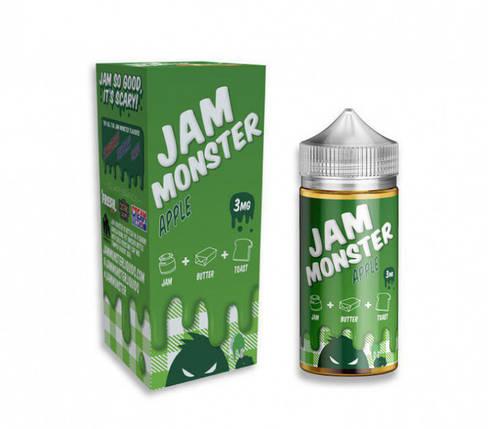 Жидкость Jam Monster 3 мг 100 мл Яблоко, фото 2