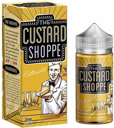 Жидкость The Custard Shoppe Butterscotch 3 мг 100 мл, фото 2