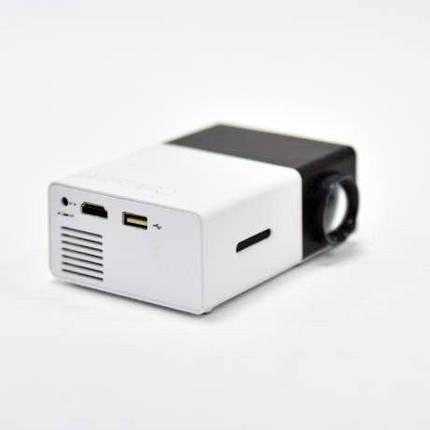 Мини проектор YG-300 Черный, фото 2