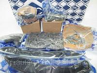 Комплект цепь ГРМ + звёздочки + направляющие на Рено Сценик III 2.0 dCi   METALCAUCHO (Испания) MC6060