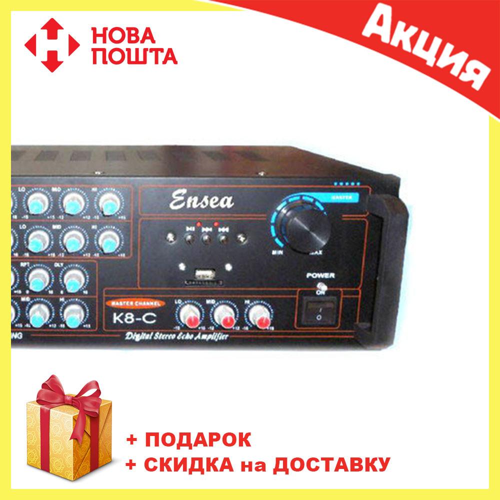 Усилитель мощности звука Ensea AMP K8 | компактный усилитель звука | усилитель мощности