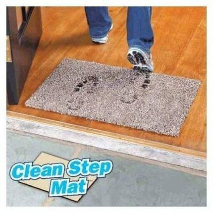 Придверні супервбираючий килимок Clean Step Mat Чорний, фото 2