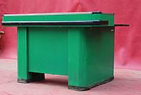 Кассовый бокс МИНИ 140х110 см., зеленый/правый, (Украина) Б/у