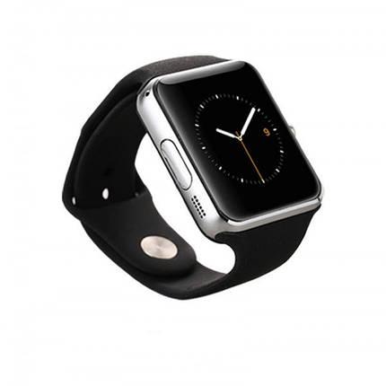 Умные смарт часы Smart watch Q7 SP Серебристый, фото 2