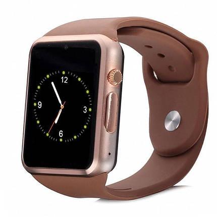 Умные часы Smart Watch A1 Золото, фото 2