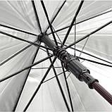Зонт трость с автоматическим открытием, розница + опт \ es - 954011, фото 3