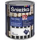 Краска по металлу грунтовочная Sniezka на ржавчину (R09) ЧЕРНЫЙ глянец 650мл, фото 2