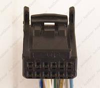 Разъем электрический 12-и контактный (15-9) б/у