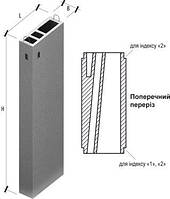 Вентиляционный блок, Вентблоки Вентиляционные блоки железобетонные Вентиляционные блоки ВБВ 30 , фото 1
