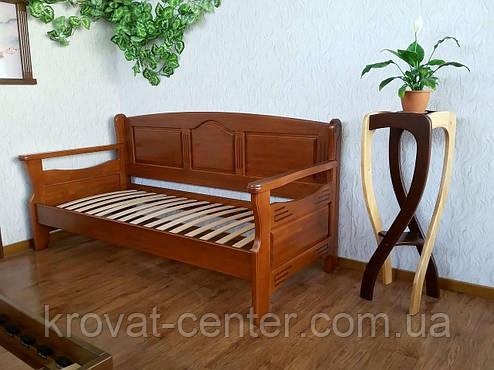 """Диван ліжко з масиву натурального дерева від виробника """"Орфей Преміум"""", фото 2"""