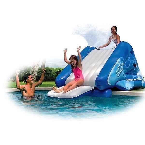 Надувной игровой центр водная горка Intex 58849 Water Slide, 333 х 206 х 117 см