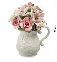 Фарфоровая статуэтка Pavone Кувшин с цветами CMS-33/55