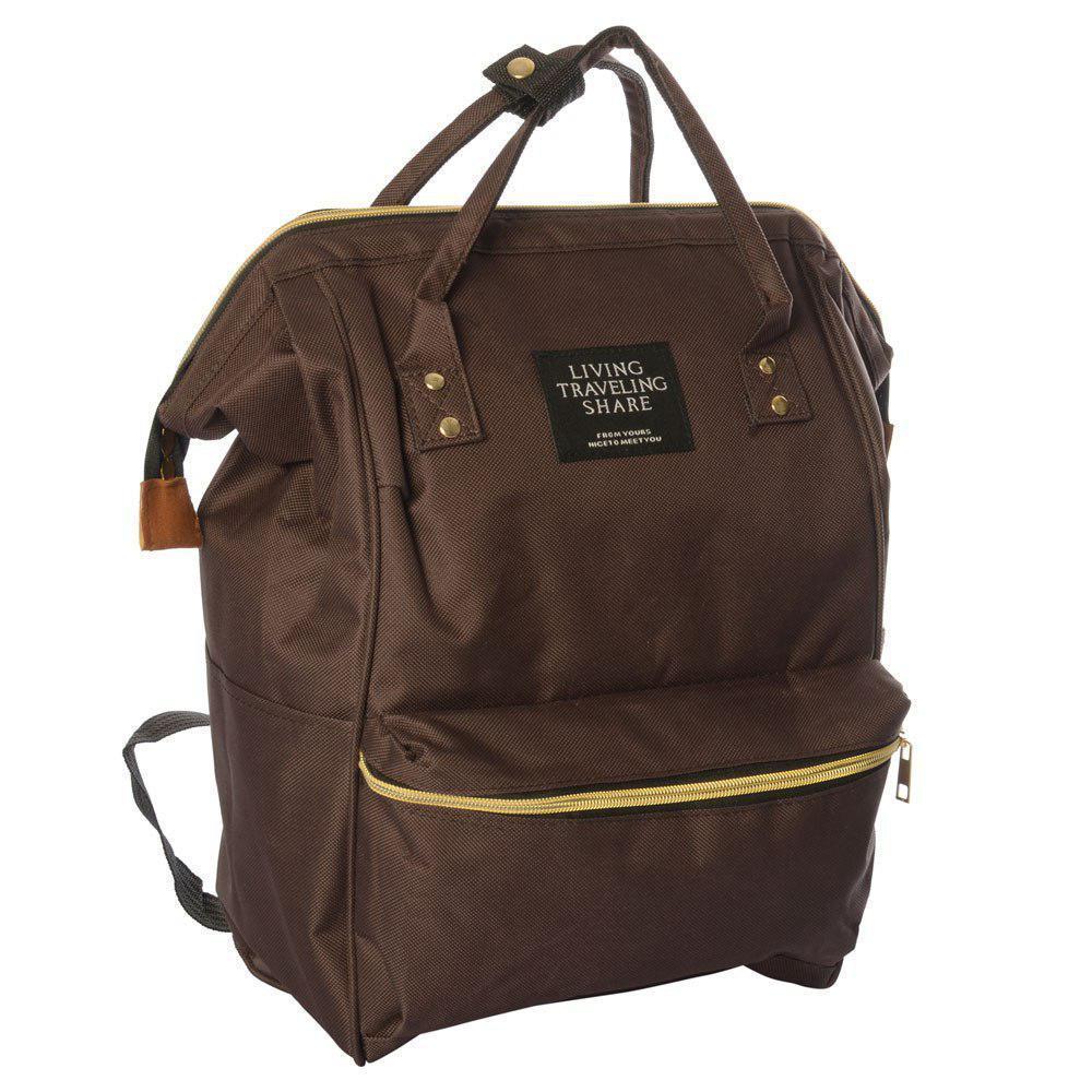 Сумка-рюкзак MK 2868, коричневый