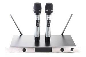 Радиосистема Shure SH UGX8 II, база, 2 микрофона