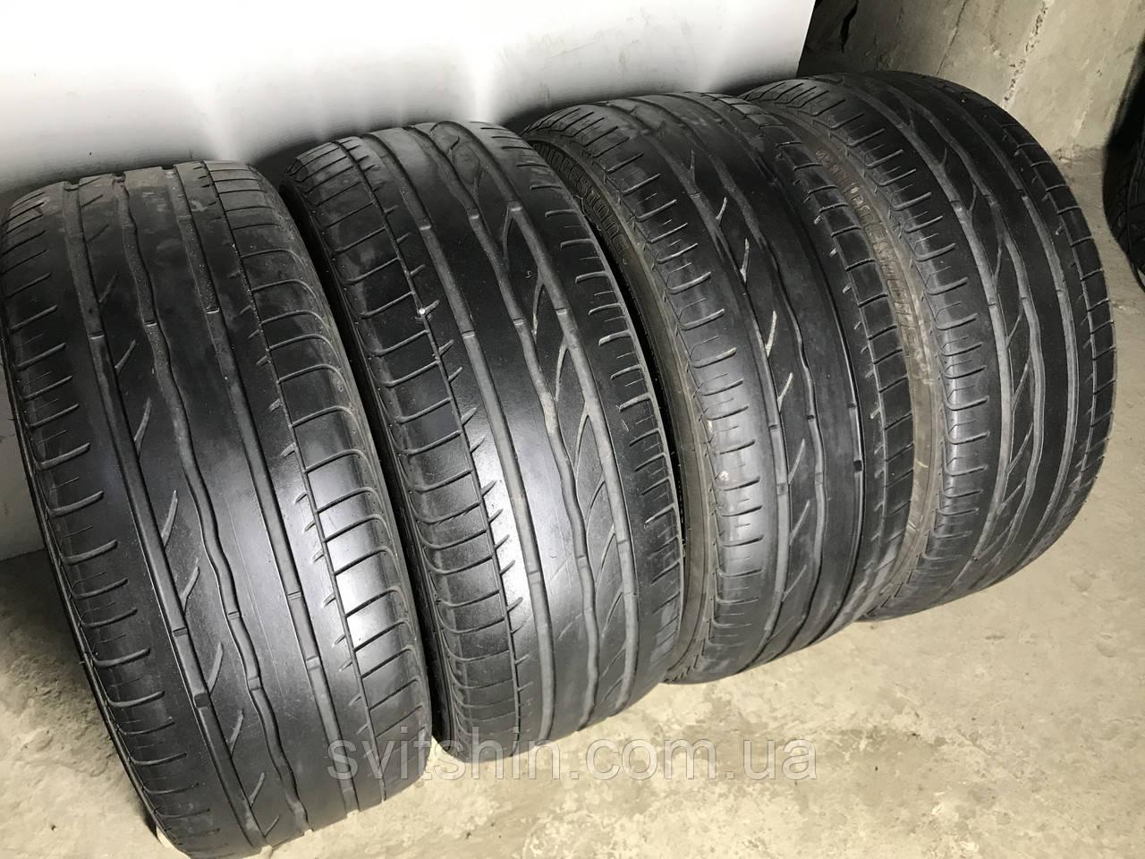 Шини бу літні 245/45R18 Bridgestone Turanza ER300 RFT (4-5мм) 4шт