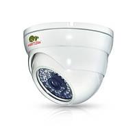 Купольная IP камера с фиксированным фокусом и ИК-подсветкой IPD-5SP-IR PoE