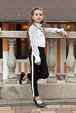 Нарядная школьная блузка на девочку от производителя, фото 3