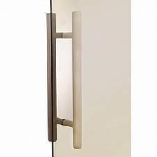 Двери для сауны GREUS PREMIUM 70х190 см (матовая бронза) 2 петли, фото 3