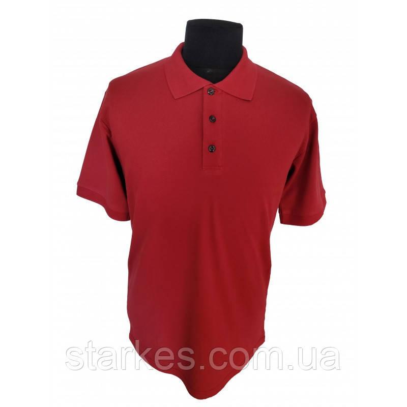 Футболки мужские Поло красного цвета, 50 р и иные размеры