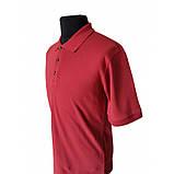 Футболки мужские Поло красного цвета, 50 р и иные размеры , фото 2