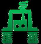 Шпилька ступицы с гайками 2ПТС-4 правая