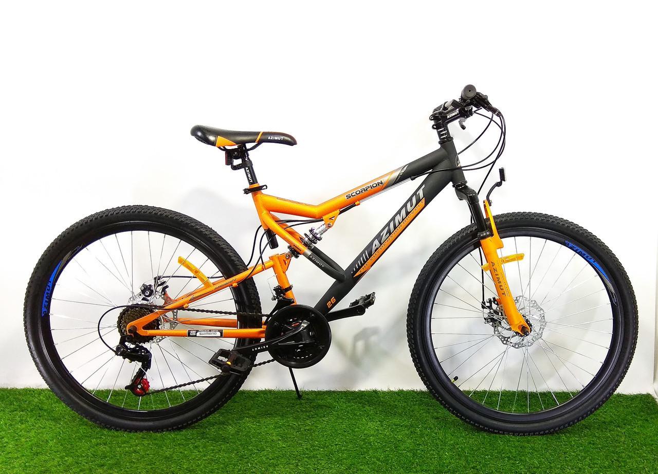 Гірський велосипед Azimut Scorpion 24 GD