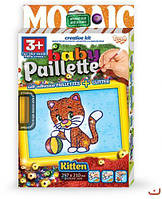 "Картина-мозаика из пайеток ""Baby Paillette: Котёнок"" PG-01-02  sco"