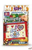 """Картина-мозаика из пайеток """"Baby Paillette: Зайчик""""  sco"""