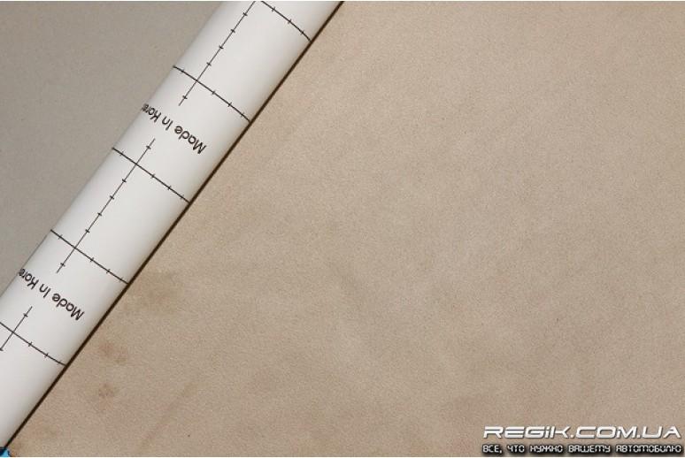 Алькантара самоклеющаяся Decoin (Корея) бежевый 145х10см - REGIK.COM.UA автоаксессуары и тюнинг в Одессе