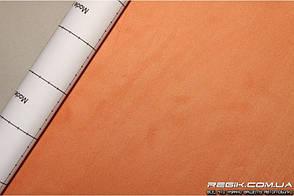 Алькантара самоклеющаяся Decoin (Корея) оранжевый 145х10см