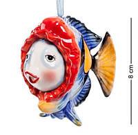 Фарфоровая подвесная фигурка (подвеска) Рыбка (Pavone) CMS - 13/ 1
