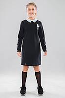 Платье школьное для девочки Санди (122-158р) (Suzie)Сьюзи Украина чёрное ПЛ-44903