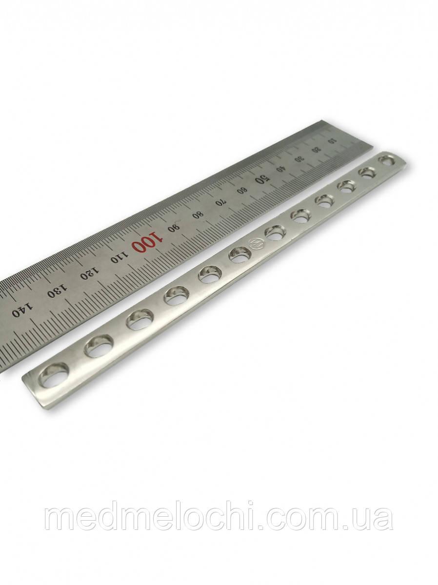 Пластина однорядка L = 146мм, D = 3,5 мм, 12 отв,