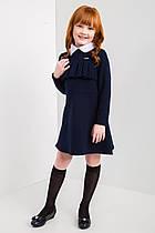 Платье школьное для девочки Виктория (122-140р) (Suzie)Сьюзи Украина синее ПЛ-46903