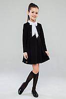 Платье школьное для девочки Линея (122-140р) (Suzie)Сьюзи Украина чёрное ПЛ-34903