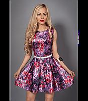 Короткое летнее платье для стильных девушек , фото 1