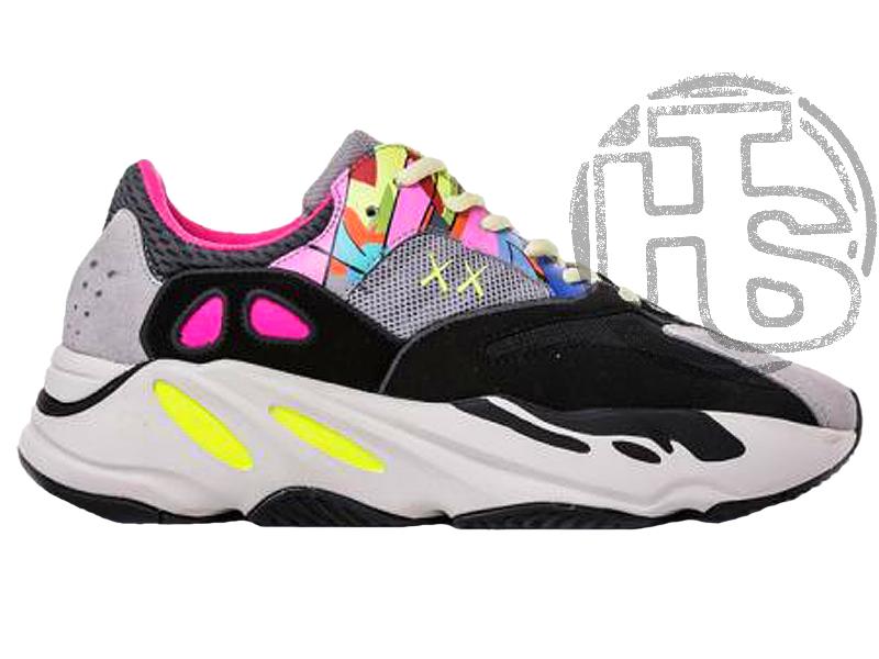 """Жіночі кросівки Adidas Custom KAWS x YEEZY BOOST 700 """"Wave Runners"""" Surface"""