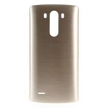 Задняя крышка для LG G3 D850 золотистый