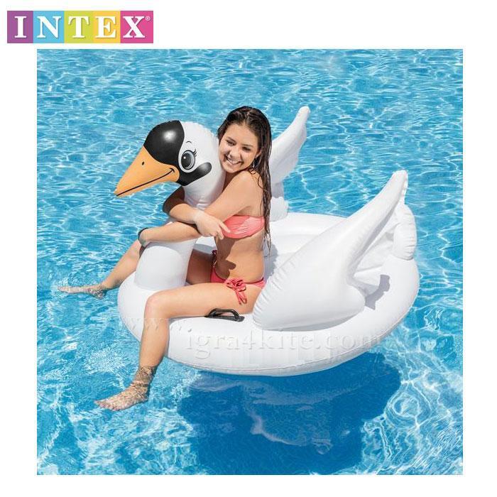 Надувной плотик Лебедь Intex 57557