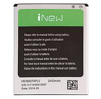 Аккумулятор iNew HD386074PLV. Батарея iNew HD386074PLV (2400 mAh) для V8 V8 Plus. Original АКБ (новая)