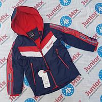 Демисезонные подростковые куртки для мальчиков на флисе оптом GRACE. ВЕНГРИЯ