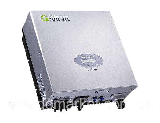 Инвертор напряжения сетевой GROWATT 3000S (3 кВт, 1-фазный, 1 МРРТ)