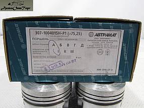Комплект поршневой ЗАЗ Таврия и Sens (1.3) размерностью 75.25 мм группа А, 307-1004015H-P1, Автрамат, фото 3