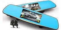 """Видеорегистратор Зеркало DVR L1002C + Камера Заднего Вида - Full HD - 7"""" Сенсорный Экран"""