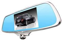 Видеорегистратор Зеркало DVR A66 - Панорамная Камера 360 Градусов + Камера Заднего Вида