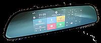 """Видеорегистратор Зеркало A6 - 7"""" Дюймов + GPS + WiFi + Bluetooth + Android + 3G, фото 1"""