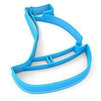 Вырубка для пряников Кораблик 10*7 см (3D)
