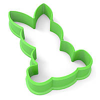 Вырубка для пряников Кролик 7,2*4 см (3D)